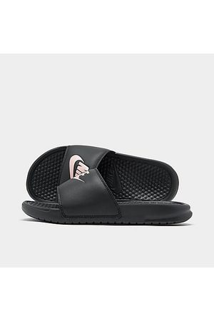 Nike Women's Benassi JDI Swoosh Slide Sandals in Size 10.0