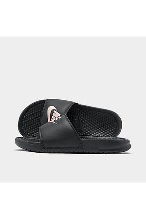 Nike Women's Benassi JDI Swoosh Slide Sandals in Size 12.0