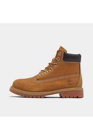 Timberland Little Kids' 6 Inch Classic Boots in Size 1.5 Leather