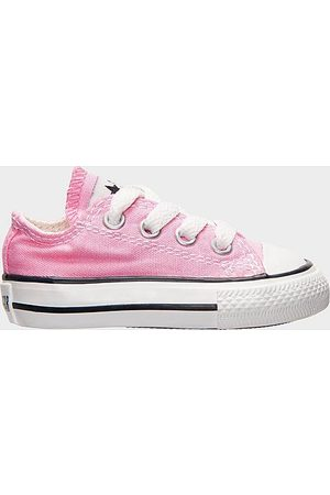 Converse Girls' Toddler Chuck Taylor Low Top Casual Shoes in Size 3.0 Canvas