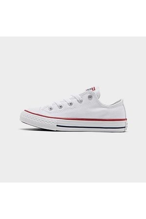 Converse Sneakers - Little Kids' Chuck Taylor Low Top Casual Shoes in Size 1.0 Canvas