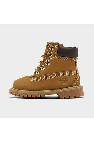 Timberland Kids' Toddler 6 Inch Classic Boots in Size 5.0 Leather