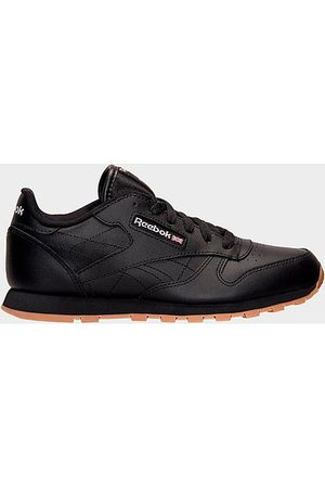 Reebok Big Kids' Classic Leather Casual Shoes in Size 6.0
