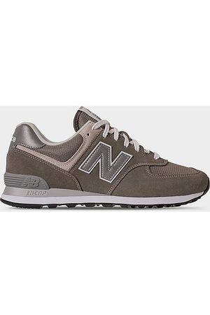 New Balance Men's 574 Casual Shoes in Grey Size 10.0 Suede