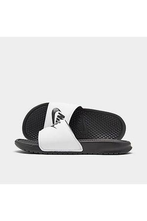 Nike Men's Benassi JDI Slide Sandals in / Size 10.0 Leather