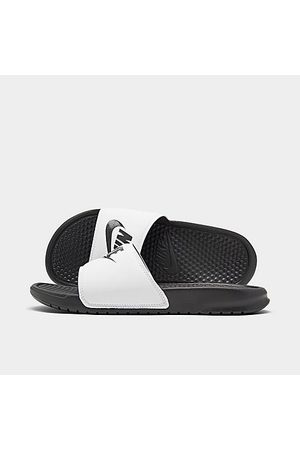 Nike Men's Benassi JDI Slide Sandals in / Size 9.0 Leather