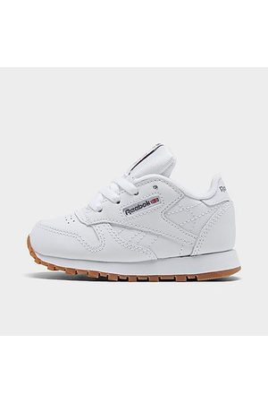 Reebok Kids' Toddler Classic Leather Casual Shoes in Size 7.0