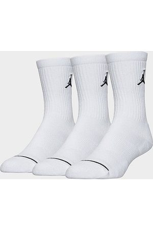 Nike Jordan Jumpman 3-Pack Crew Socks in Size Large Nylon/Polyester/Spandex