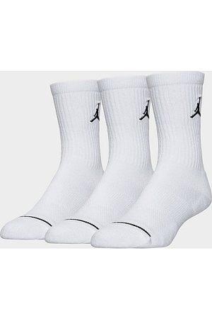 Nike Jordan Jumpman 3-Pack Crew Socks in Size Medium Nylon/Polyester/Spandex