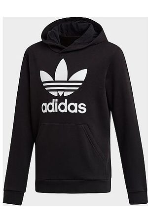 adidas Kids' Originals Trefoil Hoodie in Size Large Cotton/Polyester