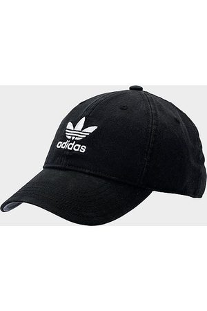 adidas Originals Precurved Washed Strapback Hat in 100% Cotton