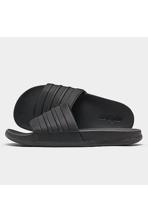 adidas Men's Adilette Cloudfoam Plus Slide Sandals in Size 14.0