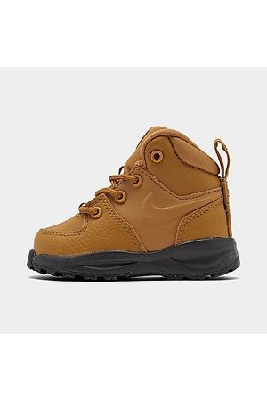 Nike Boys' Toddler Manoa Leather Boots in Size 4.0 Leather/Suede