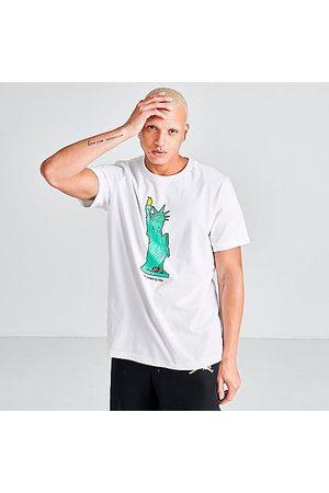 Nike Jordan Men's Character City New York T-Shirt in / Size Medium 100% Cotton