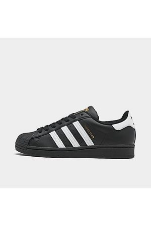 adidas Men Casual Shoes - Men's Originals Superstar Casual Shoes in Size 14.0 Leather