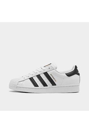 adidas Men's Originals Superstar Casual Shoes in /Cloud Size 7.5 Leather