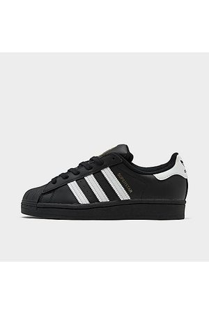 adidas Big Kids' Originals Superstar Casual Shoes in Size 4.0 Leather