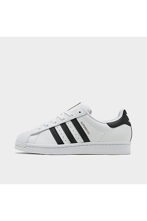 adidas Women Casual Shoes - Women's Originals Superstar Casual Shoes in Size 5.5 Leather