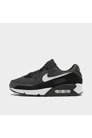 Nike Men's Air Max 90 Casual Shoes in Grey Size 8.0 Leather
