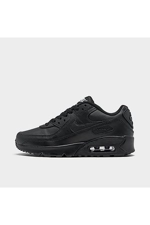 Nike Boys' Big Kids' Air Max 90 Casual Shoes in Size 4.5 Leather