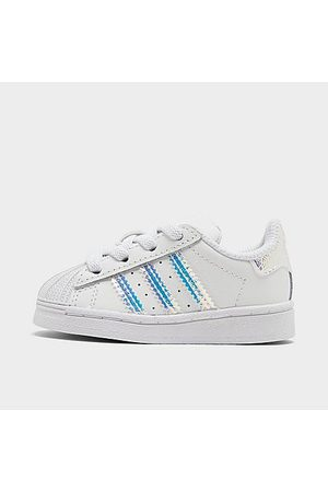 adidas Girls' Toddler Originals Superstar Casual Shoes in Size 5.0 Leather