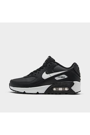 Nike Boys' Big Kids' Air Max 90 Casual Shoes in Size 6.0 Leather