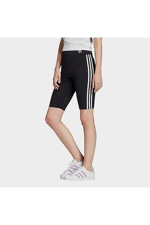 adidas Women Shorts - Women's Originals Bike Shorts in Size X-Small Cotton/Jersey