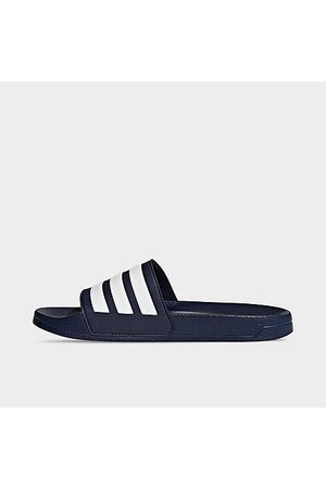 adidas Men's Essentials Adilette Cloudfoam Slide Sandals in Size 8.0