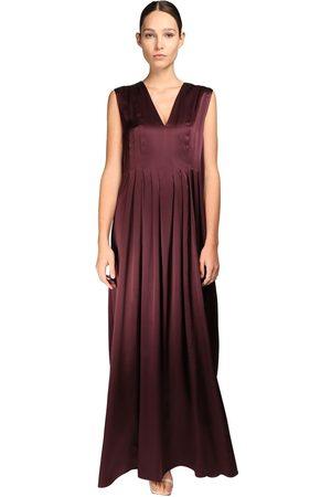 NYNNE Silk Satin Maxi Dress