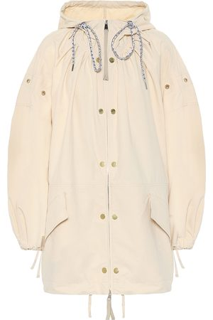 Moncler Genius 2 MONCLER 1952 Amaranth hooded coat