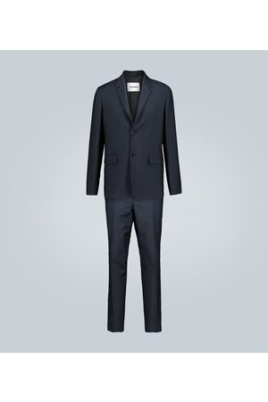 Jil Sander Wool and mohair-blend suit