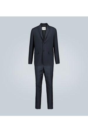Jil Sander Wool and mohair-blend suit