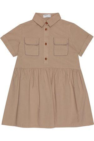 Brunello Cucinelli Cotton-poplin shirt dress