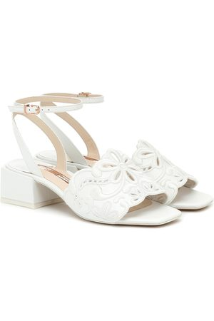 SOPHIA WEBSTER Cassia leather sandals