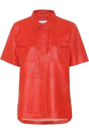 Stand Studio Leather shirt
