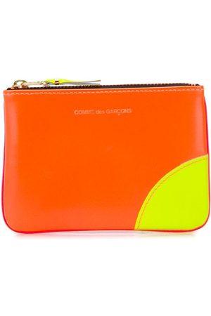 Comme des Garçons Colour blocked zipped purse