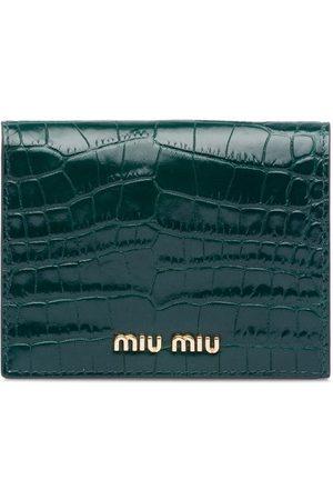 Miu Miu Women Wallets - Printed billfold wallet