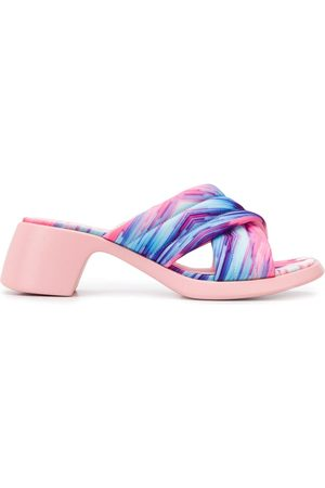 Camper Abstract print sandals