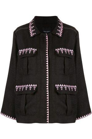 Cynthia Rowley Damen multi-pocket jacket