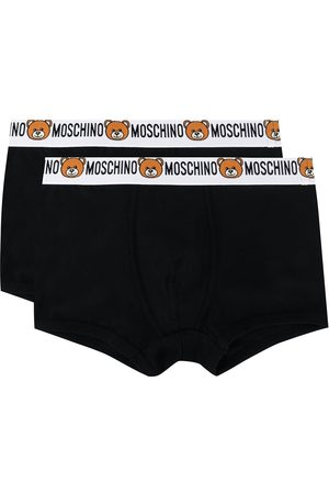 Moschino Pack of 2 teddy logo boxers