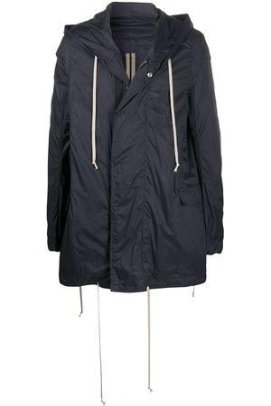 Rick Owens Men Parkas - Buttoned hooded parka