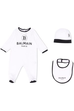 Balmain Bodysuits & All-In-Ones - Logo babygrow set