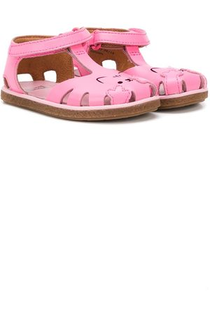 Camper Kids Perforated cat sandals