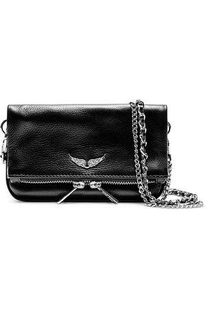 Zadig & Voltaire Women Clutches - Rock Nano Leather Crossbody Clutch