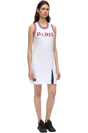 Nike Women Knitted Dresses - Jordan Psg Stretch Knit Dress