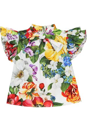 Dolce & Gabbana Floral cotton top
