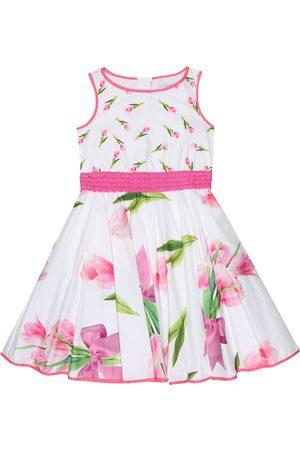 MONNALISA Floral cotton dress