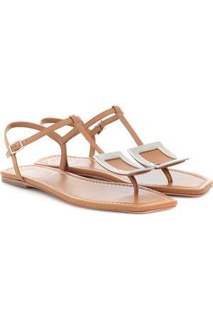 Roger Vivier Biki Viv' leather sandals