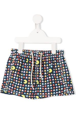 MC2 SAINT BARTH Pacman print swim shorts