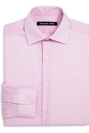 Michael Kors Boys Shirts - Boys' Cotton Dress Shirt - Big Kid